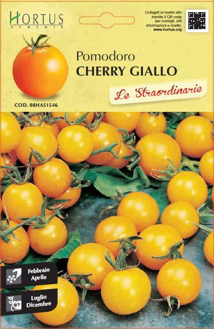 Žuta Cherry rajčica