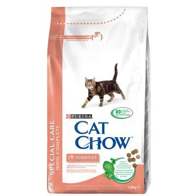 CAT CHOW SPECIAL CARE sensitive 15kg