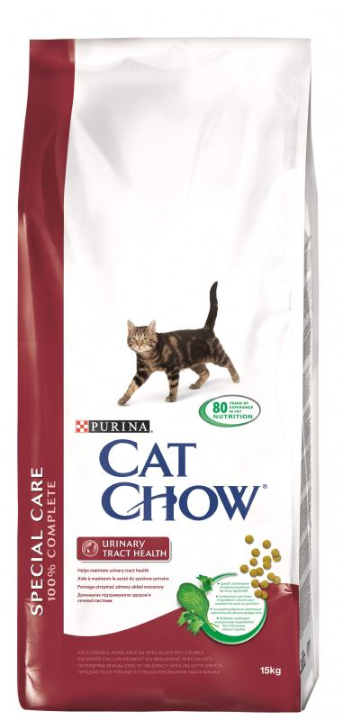 CAT CHOW SPECIAL CARE UTH 15kg