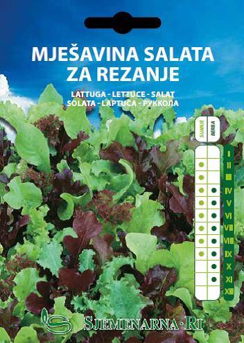 Mješavina salata za rezanje Ortovivo