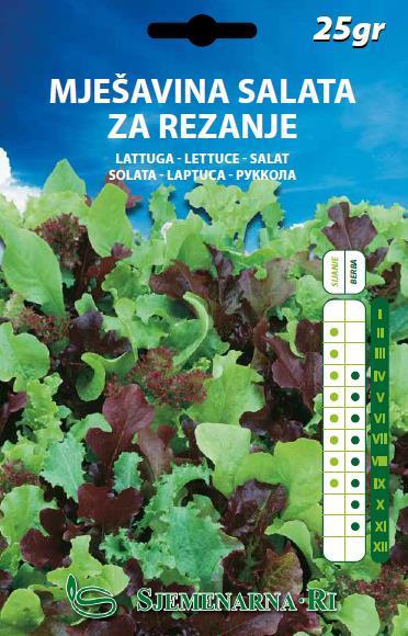Mješavina salata za rezanje 25gr.
